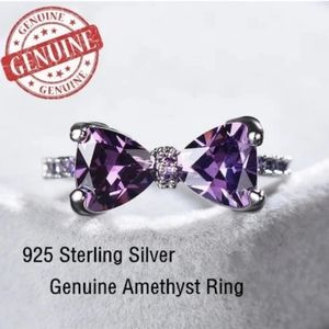 Sterling Silver and Amethyst Ring!